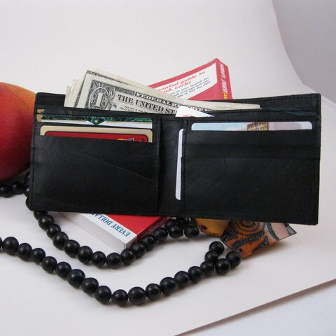 Upcycled Tire Wallet - do good shop ethical gifts