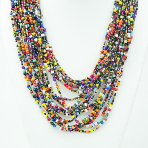 Multi Strand Beaded Jewelry Set of 3