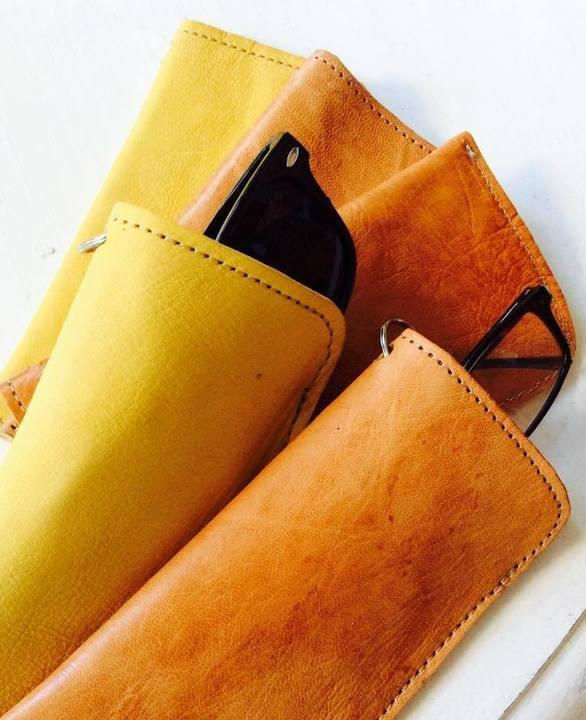 Leather Glasses | Sunglasses Case