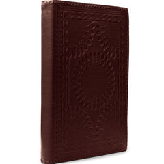 genuine.leather.journals.embossed.fair.trade.ethically.artisan.made.sold.at.do.good.shop.brown.mahagony