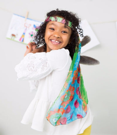 Sari Dress Up Veil - do good shop ethical gifts