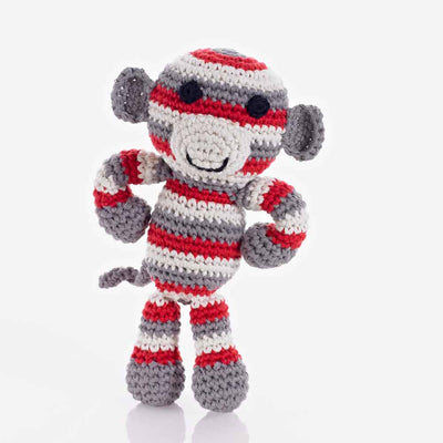 Monkey Rattle Toy - do good shop ethical gifts