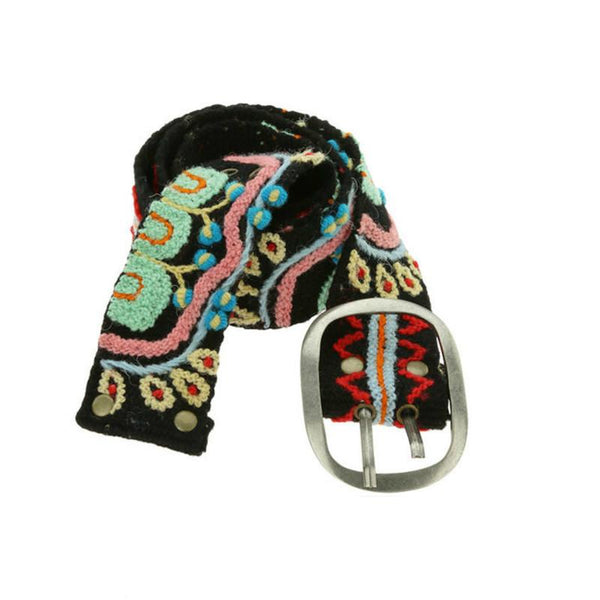 Embroidered Peruvian Belt - do good shop ethical gifts