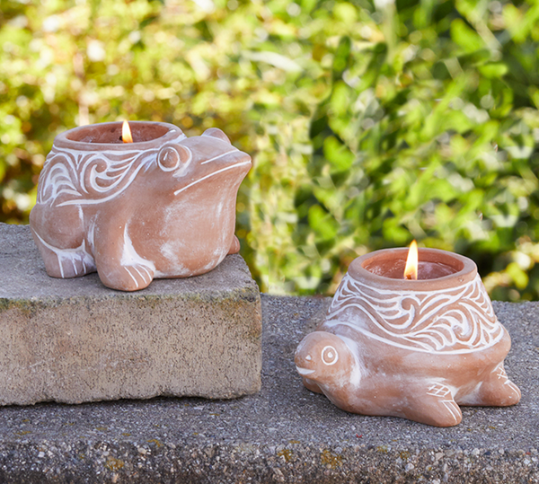 Terra Cotta Citronella Candles