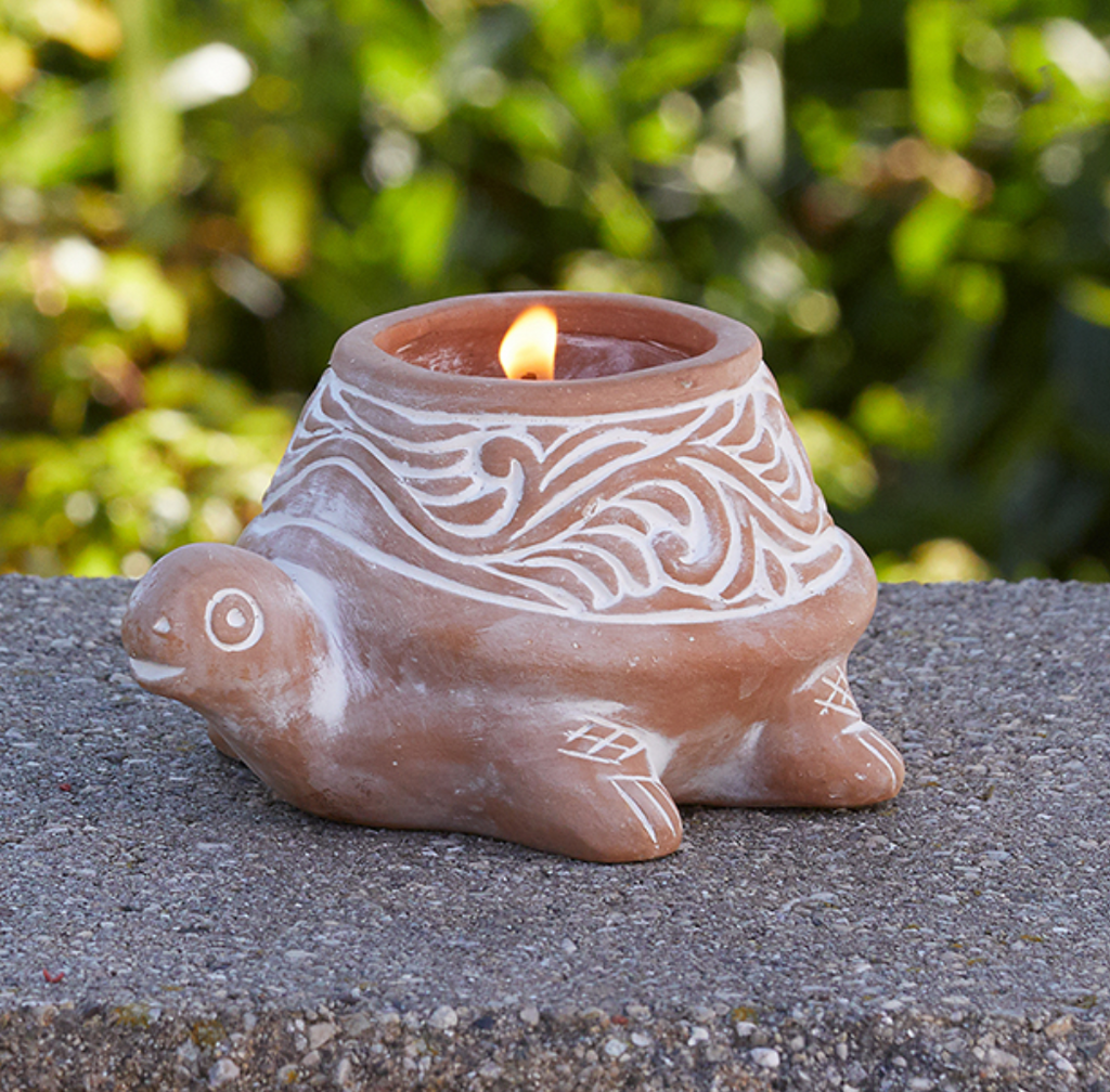 Terra Cotta Citronella Candles - do good shop ethical gifts