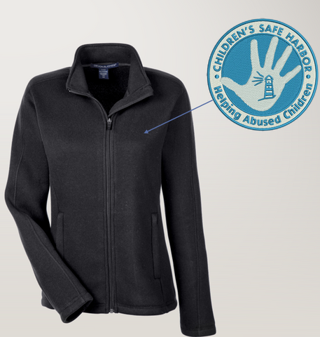 CSH Devon & Jones Ladies Bristol Fleece Jacket (DG793W)