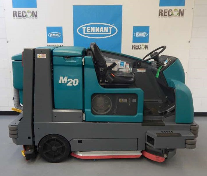 USED M20-2137 LP Sweeper-Scrubber