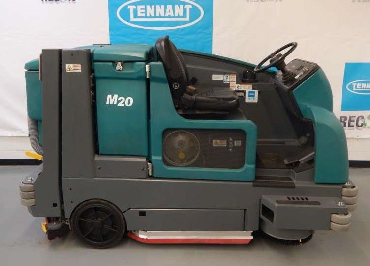 USED M20-2079 LP Sweeper-Scrubber