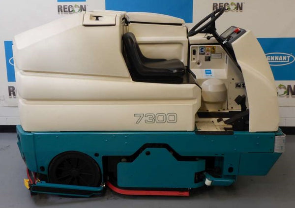 Used 7300-2872 Battery Scrubber