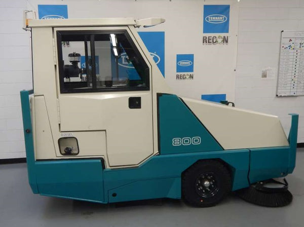 Certified 800-7831 Diesel Sweeper