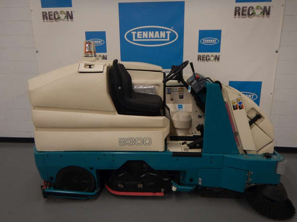 Used 8300-1002 Battery Sweeper-Scrubber