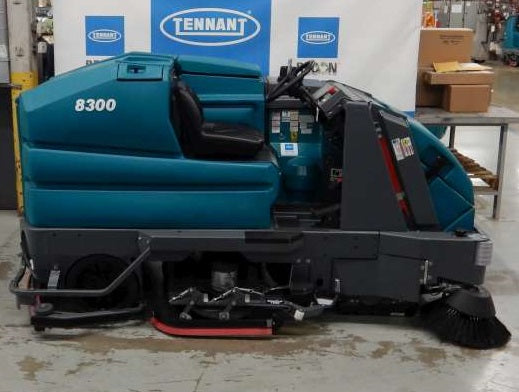 Used 8300-7400 Battery Sweeper-Scrubber