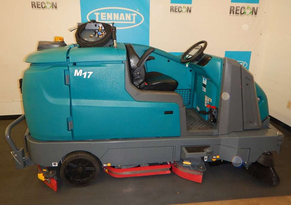 Certified M17-11080 Sweeper-Scrubber