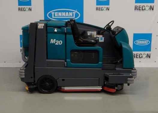 USED M20-2572 LP Sweeper-Scrubber