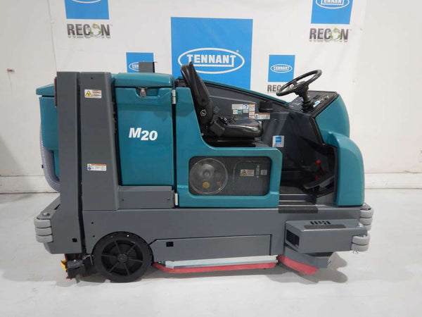 USED M20-3814 Sweeper-Scrubber