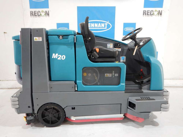 Certified M20-7117 Sweeper-Scrubber
