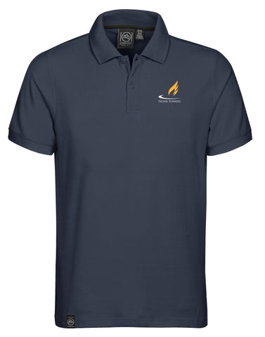 CLA Men's Sierra Cotton Pique Polo