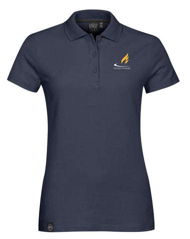 CLA Women's Sierra Cotton Pique Polo