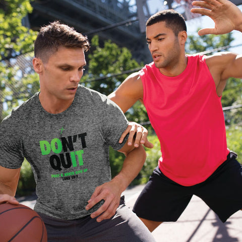 Don't Quit Mens Active T-Shirt ™