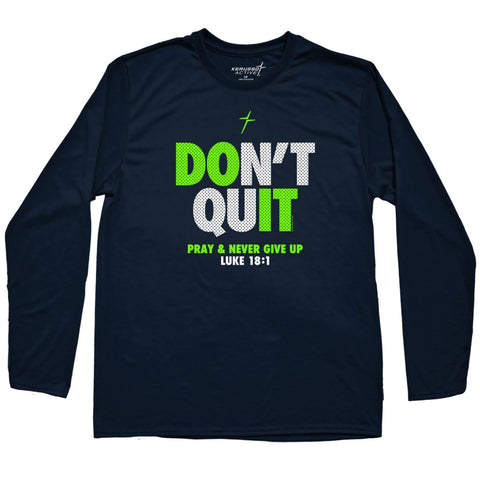 Kerusso Active Don't Quit Youth Long Sleeve T-shirt ™