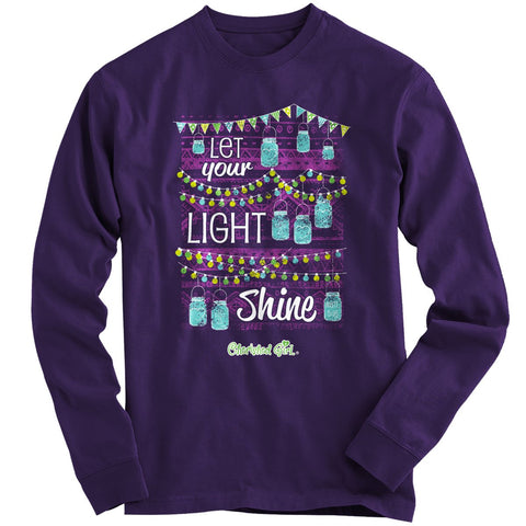 Cherished Girl Jar Lights Long Sleeve T-shirt ™