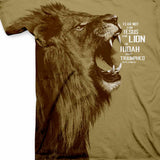 Lion All-Over Print T-Shirt ™