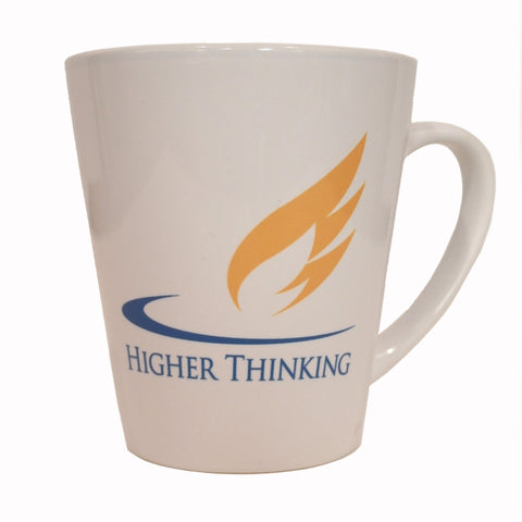 Higher Thinking Latte Mug