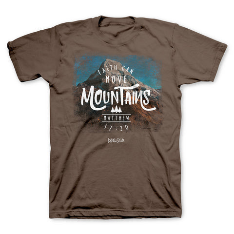 Faith Can Move Mountains Christian T-Shirt ™