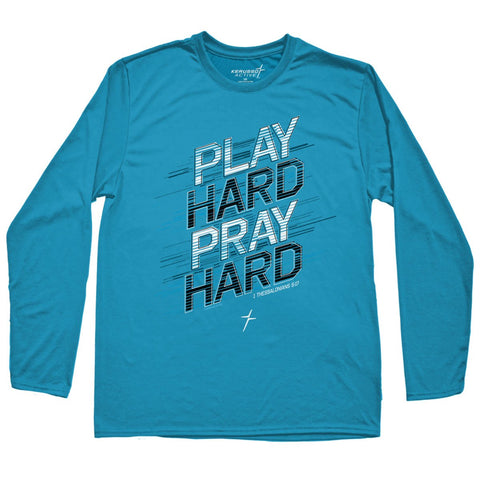 Kerusso Active Play Hard Youth Long Sleeve T-shirt ™