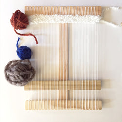 Ultimate Small Size Wood Weaving Loom Kit - Wood Creek