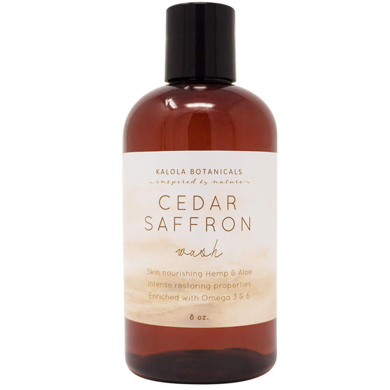 Cedar and Saffron Wash