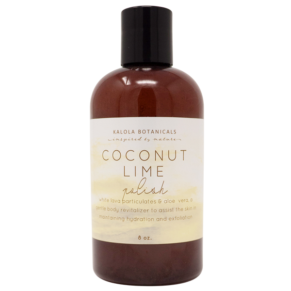 Coconut Lime Exfoliating Body Polish