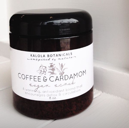 Coffee & Cardamom Sugar Scrub
