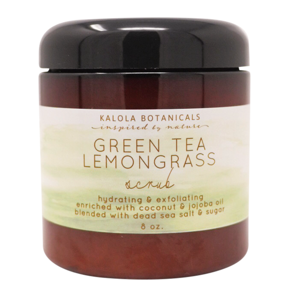 Green Tea Lemongrass Scrub