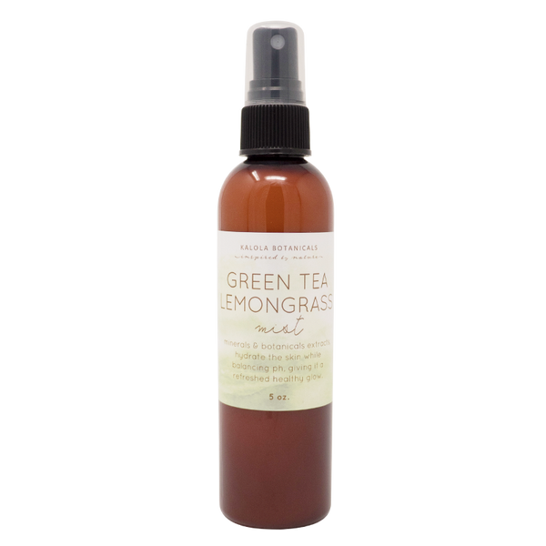Green Tea Lemongrass Mist