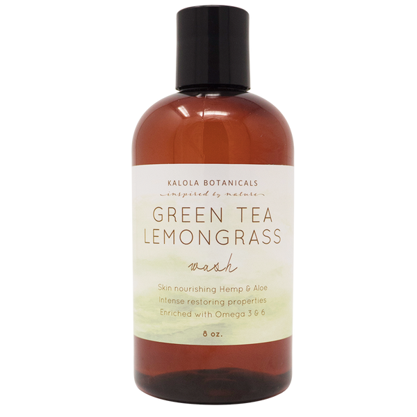 Green Tea Lemongrass Wash