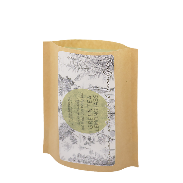 Green Tea & Lemongrass Body Bar