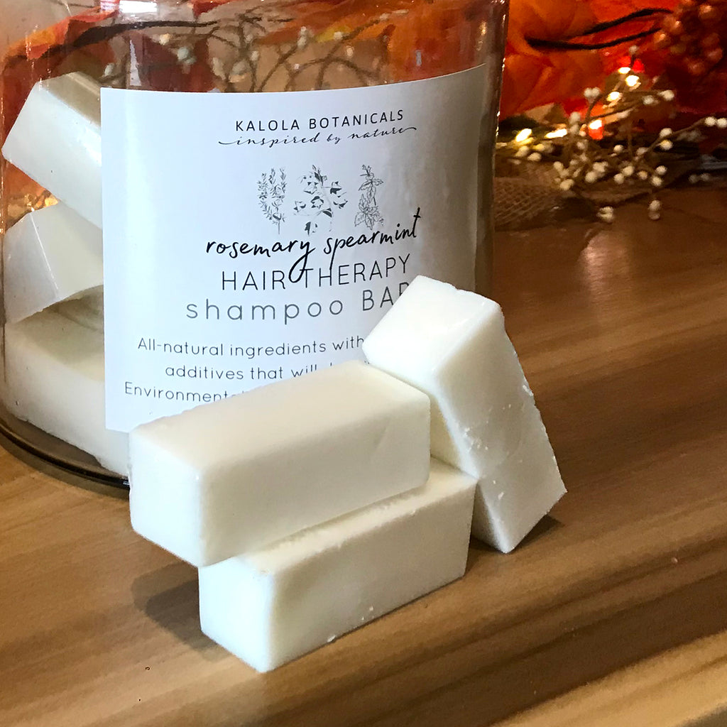 Hair Therapy Rosemary & Spearmint Shampoo Bar