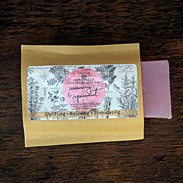 Rosemary & Spearmint Body Bar