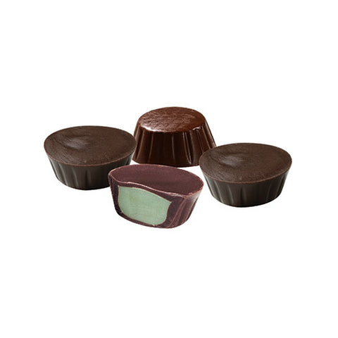 Dark Peppermint Mini Cups 8 oz. Gift Box