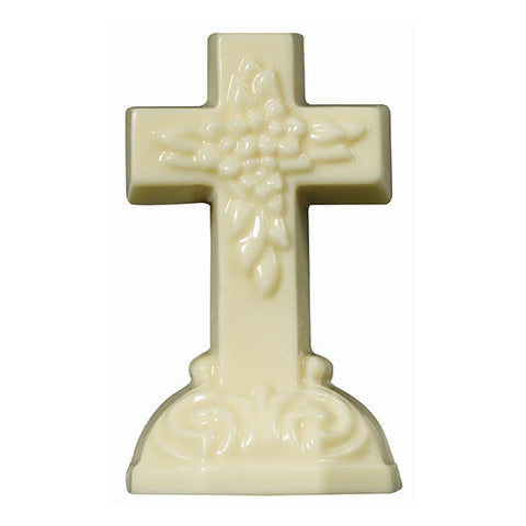White Chocolate Cross  3.75 oz.