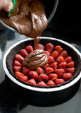 Premium Dark Chocolate Strawberry Cream 12ct. Gift Box