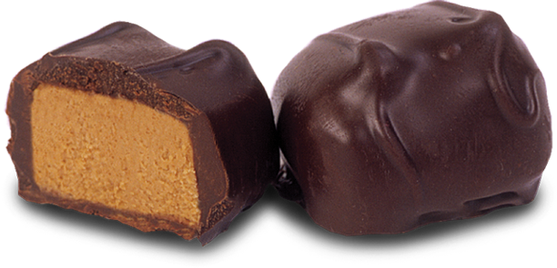 Dark Chocolate Peanut Butter Yum Yums Meltaway
