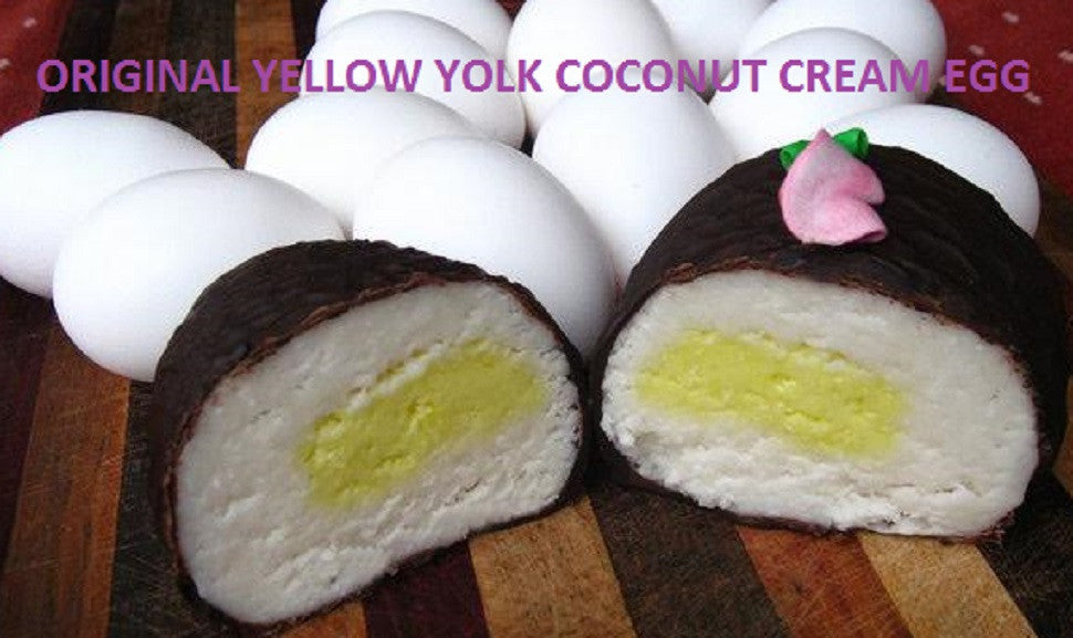 "Original ""Yellow Yolk"" Coconut Creme Eggs"