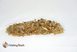 "1/4"" Casino Gold Metallic Fireglass Crystals"