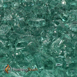 "1/2"" Emerald Green Fireglass Crystals"