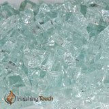 "1/4"" Icy Mint Fireglass Crystals"