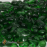 Electric Green Fireglass Pebbles