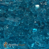 "1/2"" Carribean Blue / Azuria Fireglass Crystals"