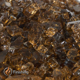 "1/4"" Copper Metallic / Reflective Fireglass Crystals"